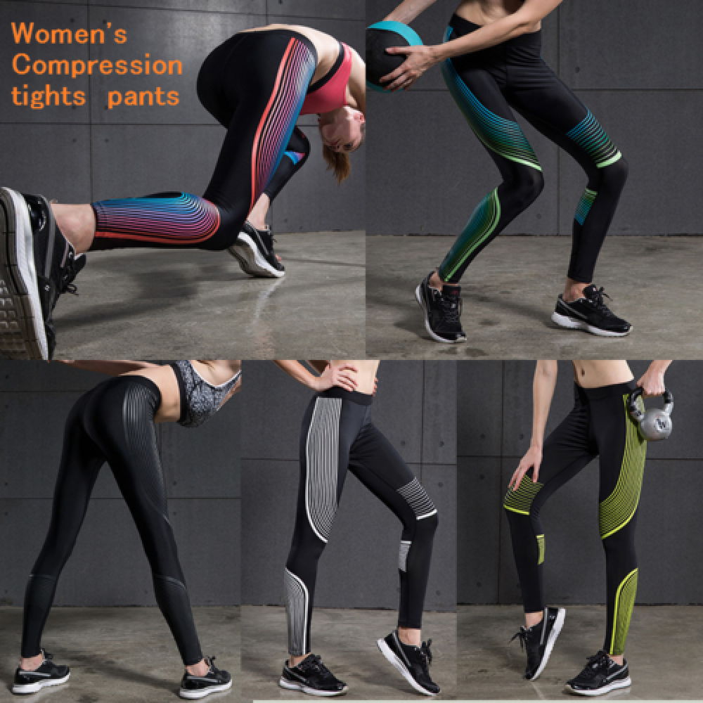 women's gym pants elastic speed dry breathable running pants to wear skinny yoga pants training pants compression pants