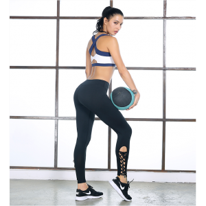 Woman Summer high waist yoga running speed dry tight pants sport training fitness sexy