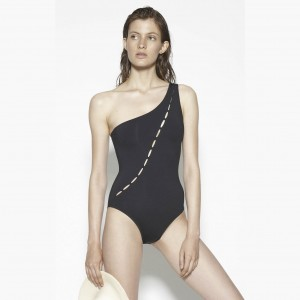 Jenni-Kayne-X-Marysia-Montecito-Maillot-One-Shoulder-One-piece-Lady-Bikini-Swimsuit